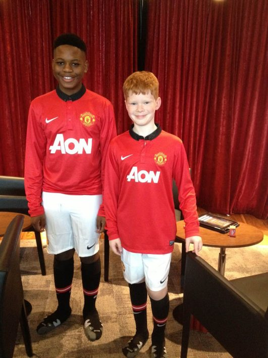Ryan Chrystal & Keith Khabo - Manchester United TVC